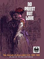 Book cover of Helena Whitbread's No Priest But Love