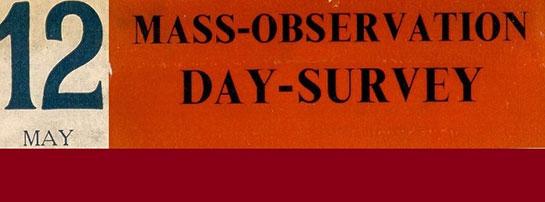 Mass Observation banner