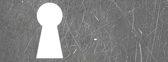 keyhole on grunge background