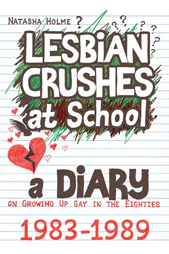 Lesbian Crushes at School book cover