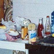 Binge food, my psychedelic room