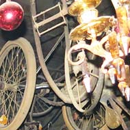 Bicycles bar, Ghent, Belgium